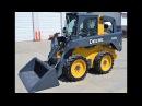 JOHN DEERE 300D – безопасная эксплуатация мини-погрузчиков серии D