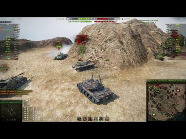 World of Tanks AMX 50 B 8 Kills 10K Damage
