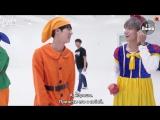 [RUS SUB][BANGTAN BOMB] 고민보다 GO (Halloween ver.) Behind - BTS