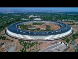 ILLEGAL DRONE FLYING OVER APPLE PARK - July 4th Update in 4K