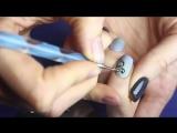 САМЫЕ ПРОСТЫЕ ВЕНЗЕЛЯ В МИРЕ -) Дизайн ногтей Дотсом на гель лаке. Легкий маникюр Вензеля на ногтях