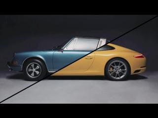 Сравнение двух Porsche 911 - 1970 и 2017 года