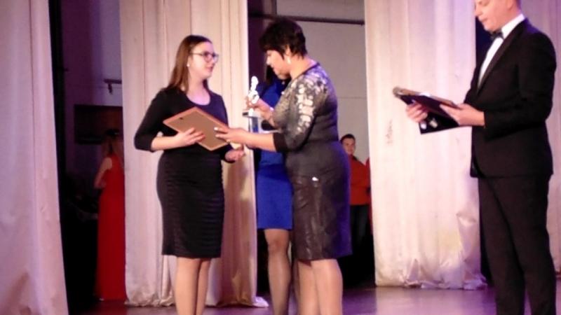 Награждение Победителей I отделения Народный и Академический вокал