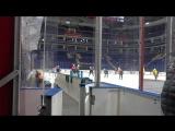 Видео с утренней раскатки команды на Арене ВТБ