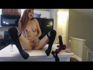 Milly17 - american pussy in the kitchen [фистинг, fisting, extreme pussy inserti