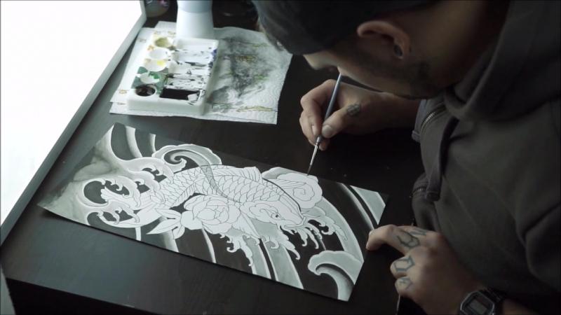 Alexandr Ostrov tattoo artist