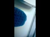 Снимает попку в поезде / подглядывание, скрытая камера