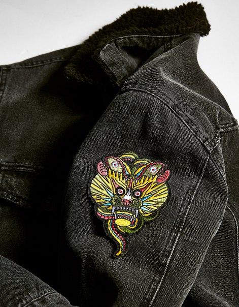 Нашивка с вышивкой «Татуировка»