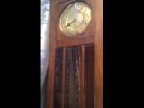Бой напольных часов. F.M.S. - Friedrich Mauthe, Schwenningen