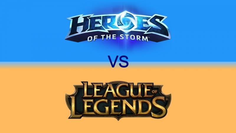 Изучаем новую игру жанра Моба и покоряем ранги в Лиге. League of Legends | Heroes of the Storm.