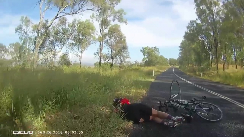 ScROOed on Australia Day - Kangaroo 1, Cyclist 0