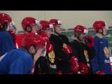 Тренировка мужской молодежной сборной России в Новогорске