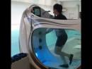 Подводная беговая дорожка