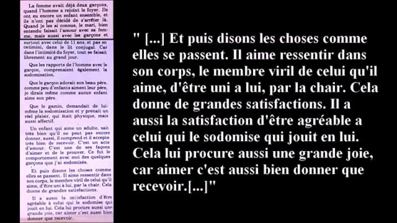 Zoophilie pédophilie pour tous ! Libération ! - YouTube (360p)