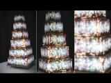 Свадебный торт на заказ - Световое шоу Luma Cake