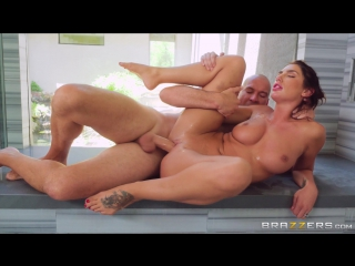 August Ames - The Joys Of A Long Hot Shower [Big Tits,Brunette,Feet,All Sex,New Porn 2017]