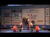 Максим Бархатов - тяга 387,5 кг (117 кг)