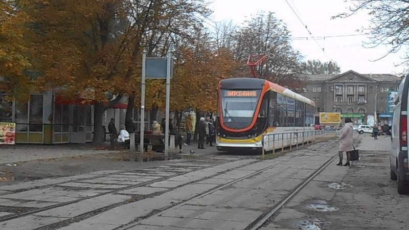 Сегодняшние испытания вагона к1м6 в Днепродзержинске 23 10 2017