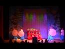 Восточные зарисовки - Японский танец с зонтиками. Китайский танец с веерами (1)