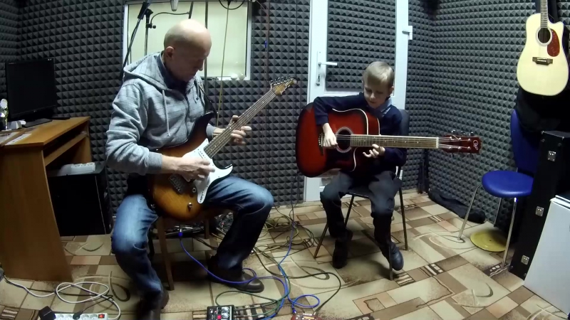 Владимир и Владислав Соломяные - музыка дорог (запись студия Р-РЕКОРДС)