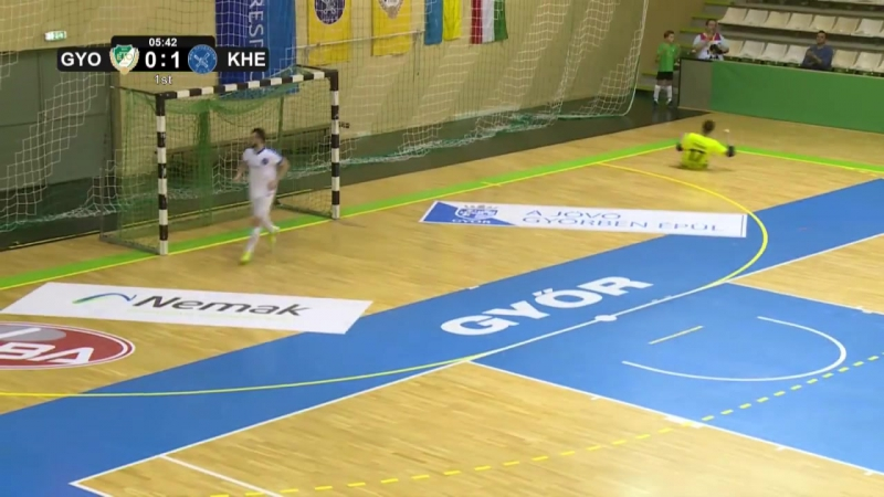 Győri ETO (Hun) 3-2 Futsal Kherson (Ucr)