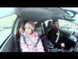 Михаил Галустян за рулем такси