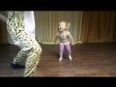 Моя принцесса 👸👑💜 танцы с гепардом🐆