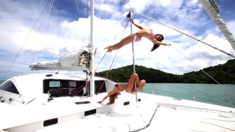 Партнер полдэнс тура Galeforce/ тренировки на парусном катамаране/ экскурсии на ПхиПхи, Коралловый остров, Рача Яй, Краби