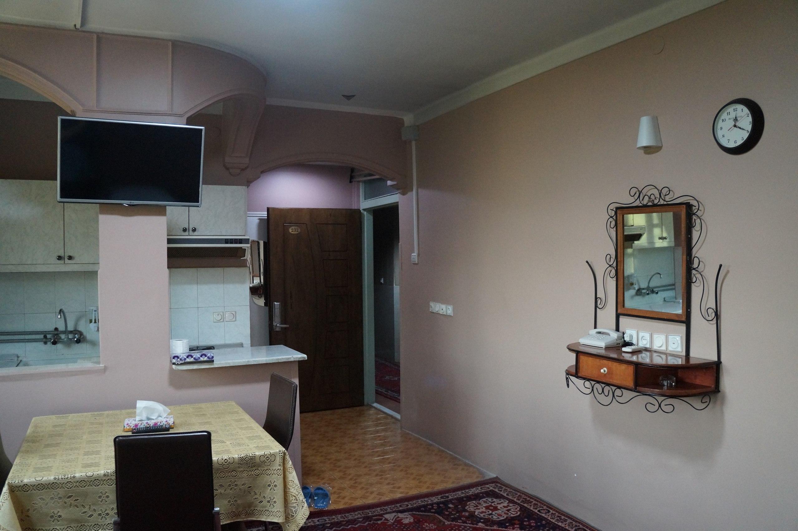 Как выглядит типичный отель в Иране