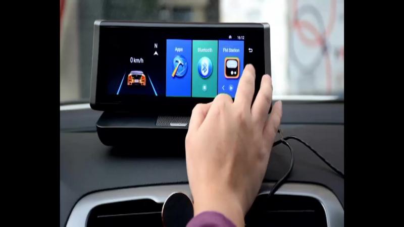 Как установить и использовать CUagain CU2 DVR 8 GPS Dash Cam 4G Wifi Android Автомобильная камера Зеркальное видеомагнитофон