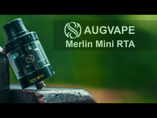 БЫСТРЫЙ ОБЗОР | FAST REVIEW AUGVAPE Merlin Mini RTA