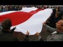Жыхарка Берасця пра бел-чырвона-белы сцяг: Па-мойму, гэта польскі | Бело-красно-белый флаг < Белсат>