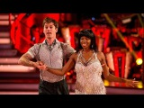 Jamelia &amp Tristan MacManusCharleston to 'Straight Up' - Strictly Come Dancing 2015