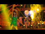 Jamelia &amp Tristan MacManus dance the Cha Cha to 'Don't Cha' - Strictly Come Dancing 2015