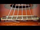 Как поменять нейлоновые струны на классической гитаре
