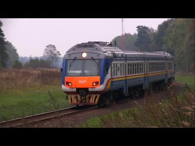 Дизель-поезд ДР1Б-512 сообщением Гродно - Вильнюс DMU DR1B-512