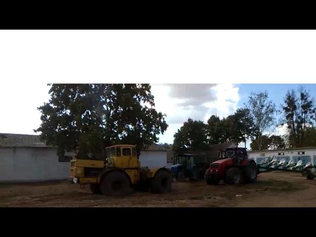 Кировец K700 vs МТЗ 3522. Kirovets K700 vs MTZ 3522.