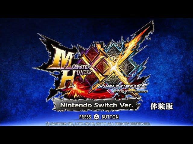Monster Hunter XX Nintendo Switch Ver. Ukanlos Hunt Gameplay Wakthrough Part 1