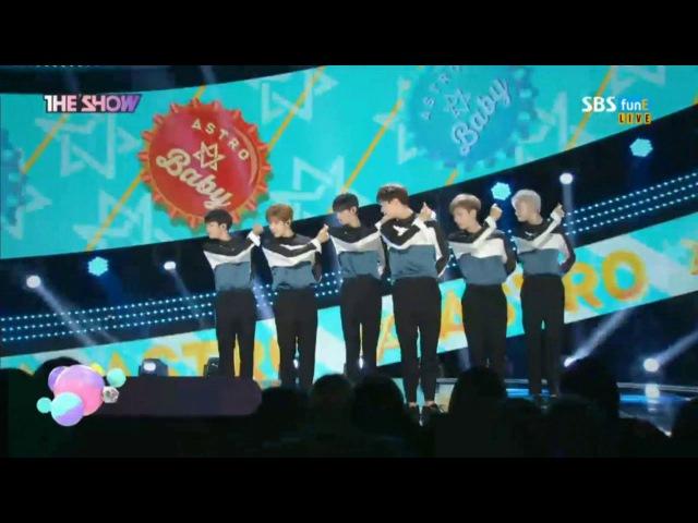170613 SBS funE - The Show / ASTRO _ Baby
