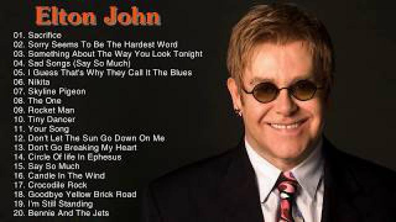 Best Songs Of Elton John Elton John Greatest Hits Playlist