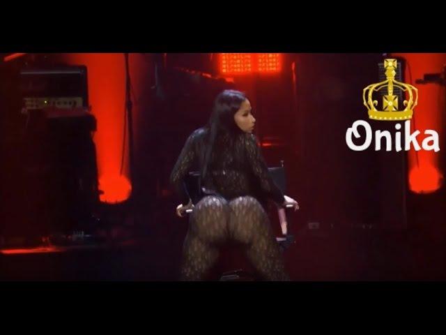 Nicki Minaj - Vocês pensaram que eu não ia rebolar minha bunda hoje?