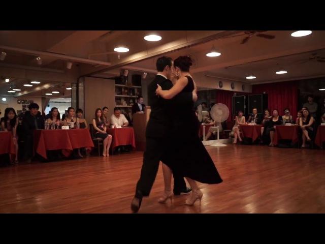 Lime Tango Cafe Facundo Piñero y Vanesa Villalba 2 4 Como La Margarita Seoul Milonga