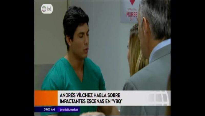 Andres Vilchez y Alessandra Fuller protagonizan pelicula a tu lado