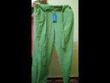 Летние женские брюки с поясом, размер 52, арт. 067W3202 / Faberlic
