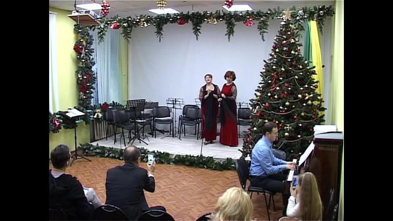 Таисия Шумилова и Инна Камеко Гурилев Радость Душечка ф-но Алексей Канаев