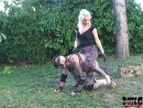 Mistress ride outdoor ponyboy