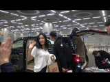 180316 Hyomin arrived in Macau for The 12th Asian Film Awards at Taipa Ferry Terminal
