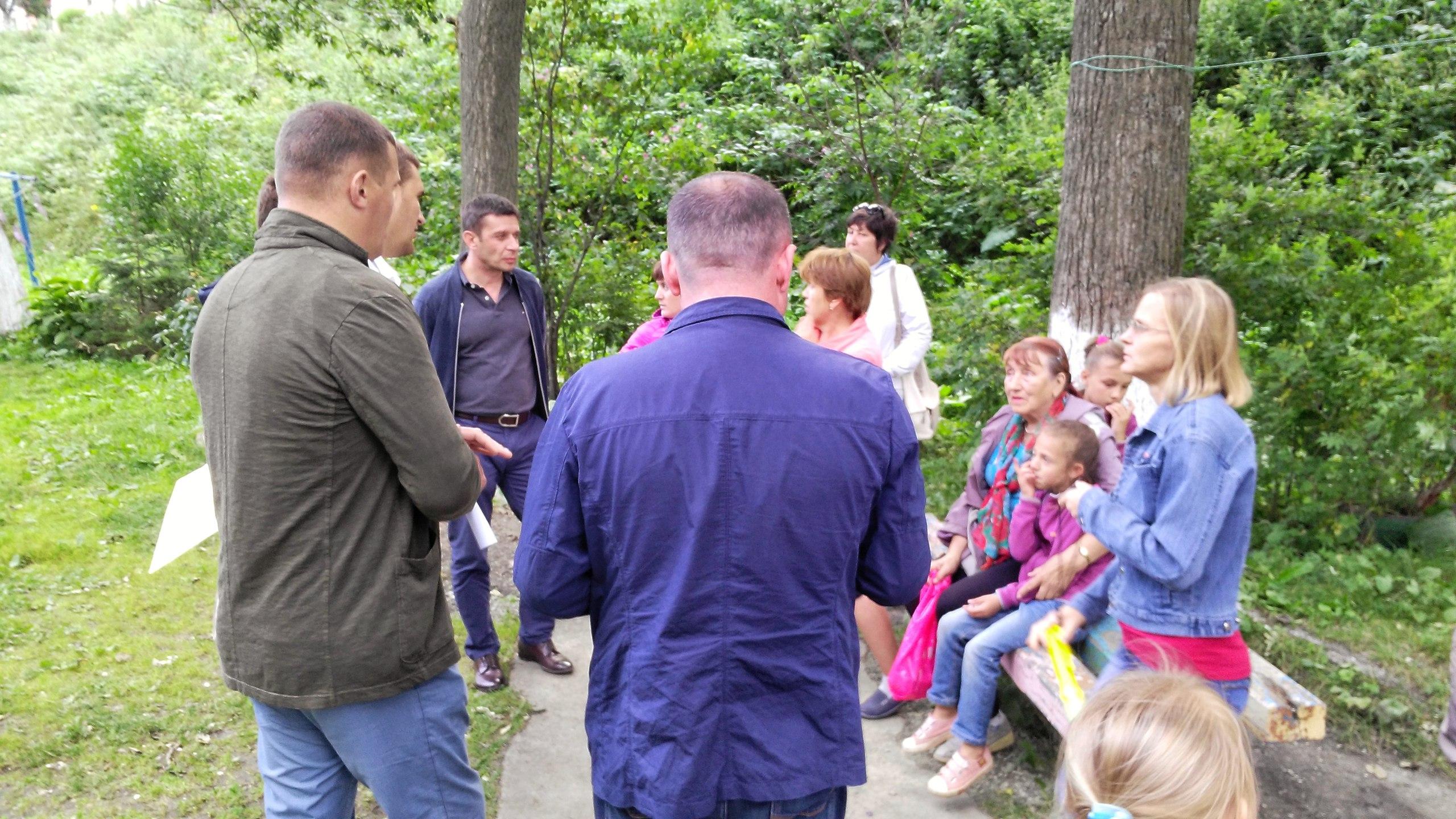 На днях встречался с жителями домов ул.