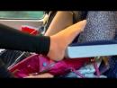 Школьница в автобусе сексуальные ножки 16 year Girl in Hot Socks 2_2 schoolgirl