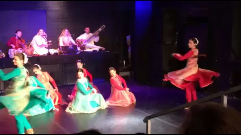 InOneLine kathak dance programme fragment - Tintaal - Paran Amad